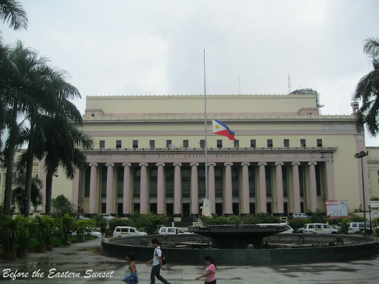 Front view of Manila Central Post Office.