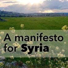 A manifesto for Syria