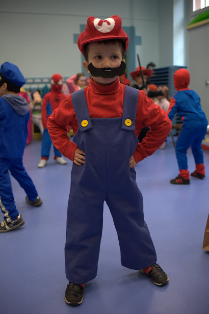 costume super mario bros couture