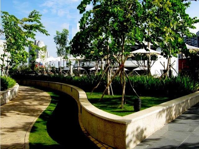 Khu vực tập thể dục tại City Garden