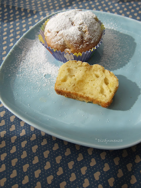 gasztroblog, Olívaolajos-kakukkfüves-almás muffin, recept, alma, muffin, kakukkfű