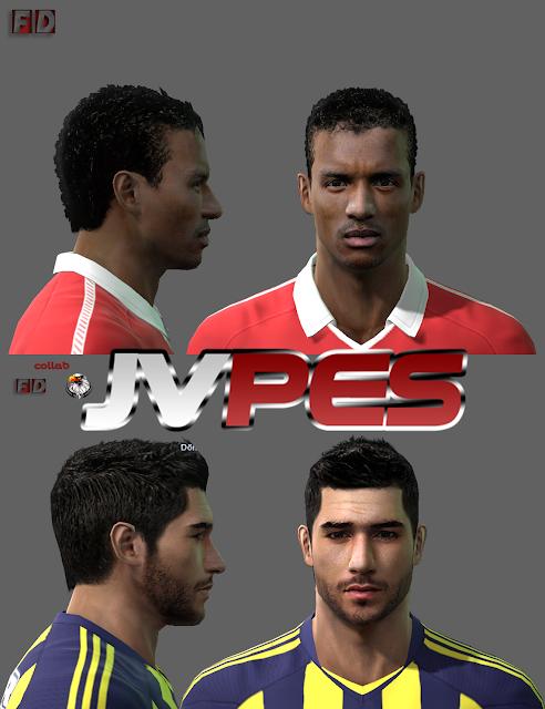 PES 2011 Download  Baixar Faces De Nani E Sezer   Zt  Rk Para PES 2011