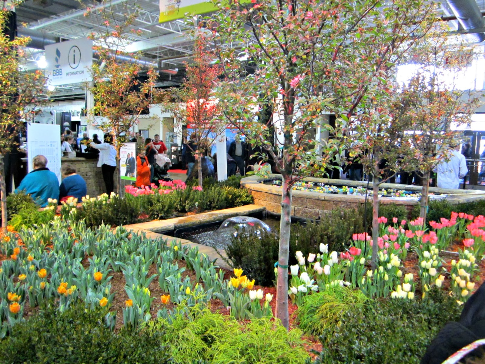 Beau Last Weekend, Kenneth And I Went To The Home U0026 Garden Show At The Ohio Expo  Center. It Was Refreshing To Be Around Plants   It Looked Like A Well  Manicured ...