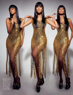 Tyra Banks Photos from Black Magazine Cover June 2014 HQ Scans