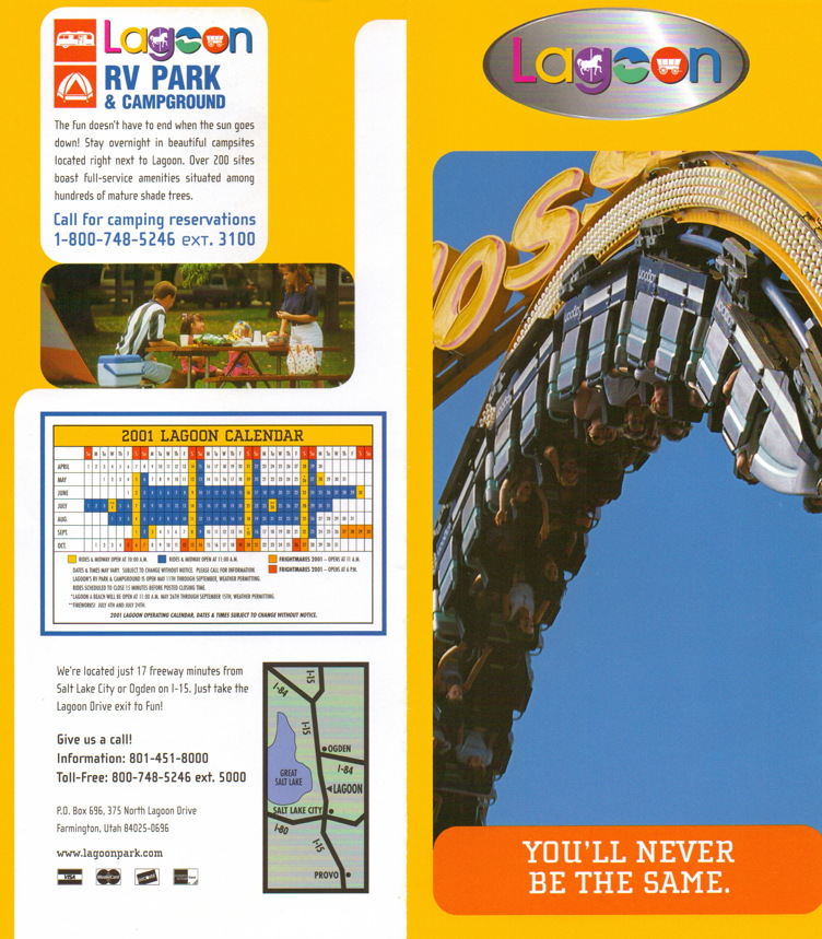 Newsplusnotes From The Vault Lagoon 2001 Brochure And Map