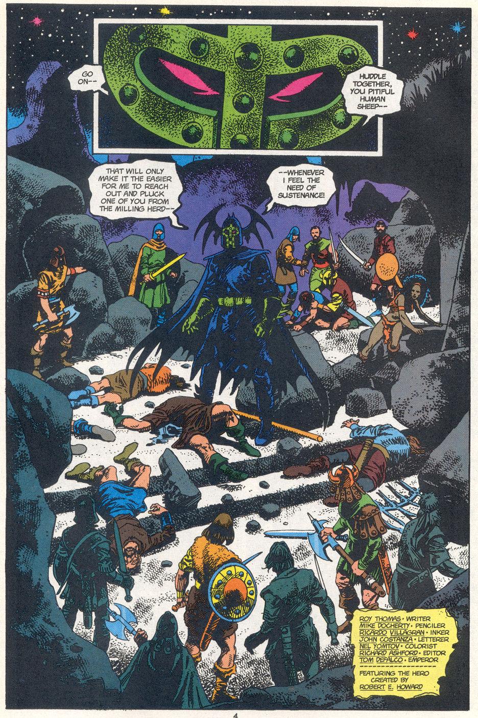 Conan the Barbarian (1970) Issue #272 #284 - English 4