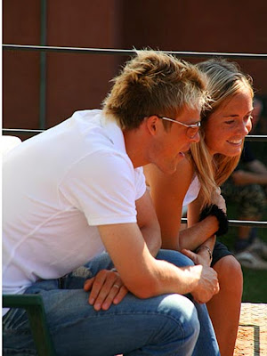 Klara Zakopalova with Husband