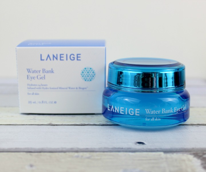 Laneige Water Bank Eye Gel review box 라네즈 워터뱅크 아이젤