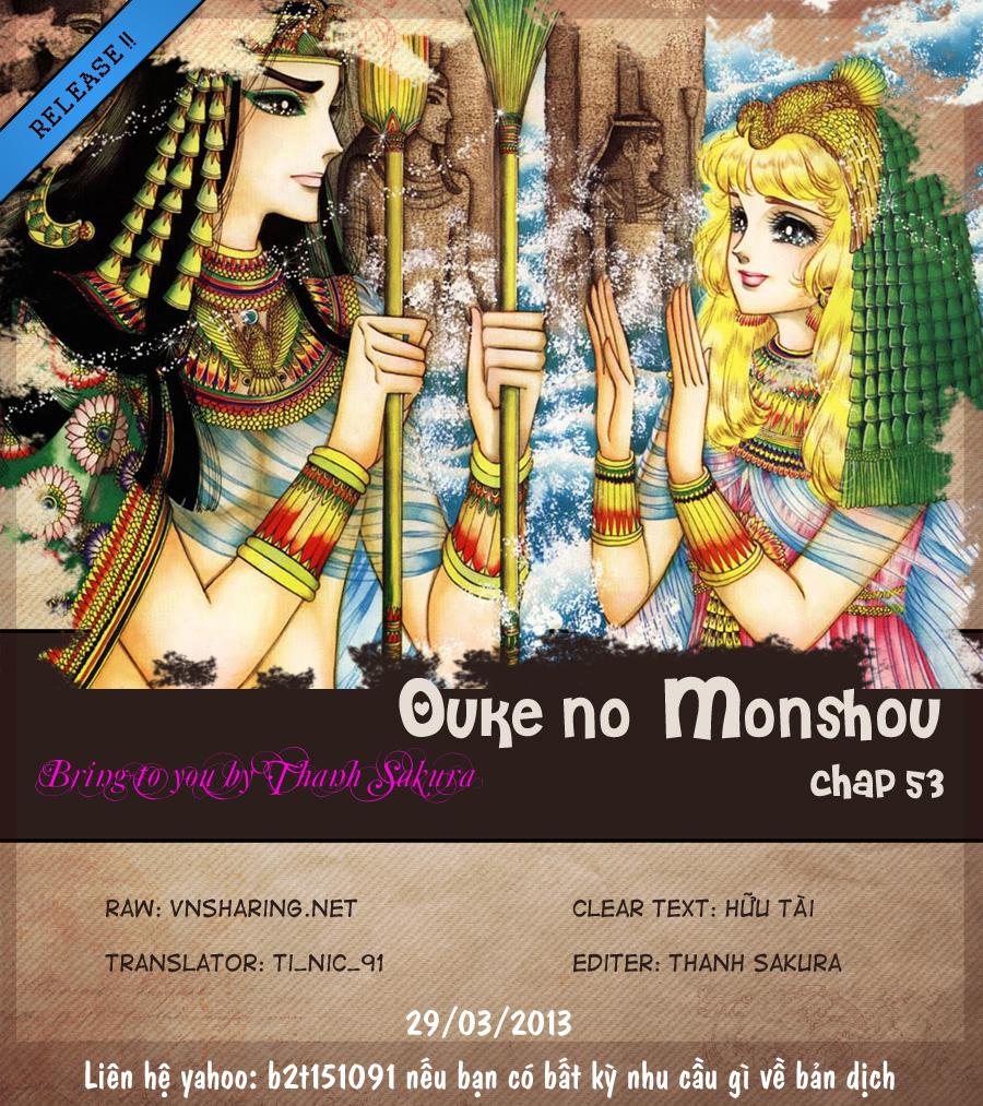 Nữ Hoàng Ai Cập-Ouke no Monshou chap 53 Trang 1 - Mangak.info