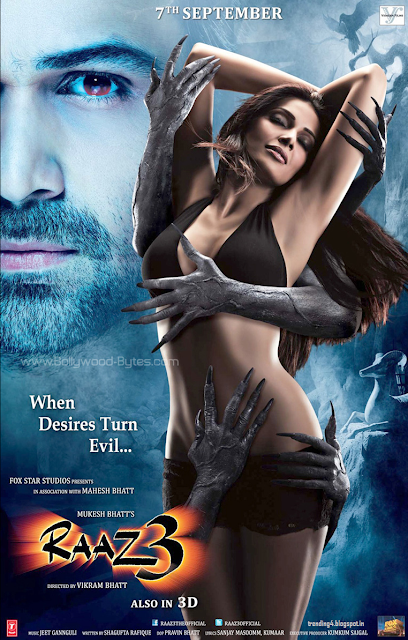 Raaz 3 movie Emraan Hashmi trailer audio/mp3 songs free download latest news release date Bipasa