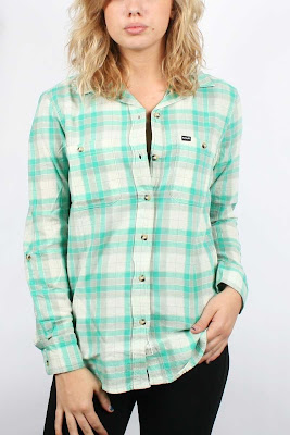 Hurley Wilson Women's Flannel Shirt
