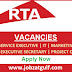 Vacancies at RTA- Dubai UAE