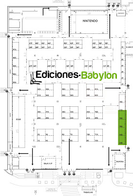 plano expomanga 2013 ubicacin ediciones babylon