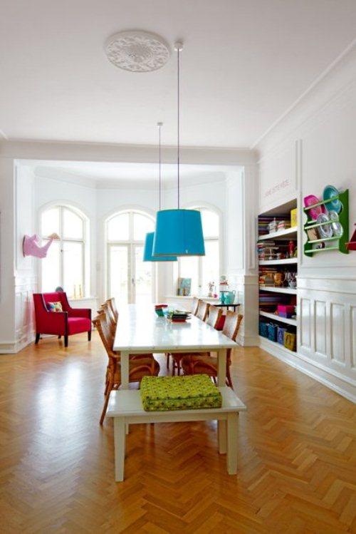 light house with bright furniture and accents 5 ไอเดียการตกแต่งบ้านหวานๆจากเดนมาร์ก
