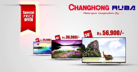 Changhong Ruba Led Tv Discount Price In Pakistan Price