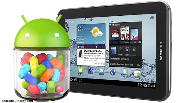 Android Jelly Bean Samsung Galaxy Tab