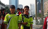SMAN 110 Mengikuti Lomba Gerak Jalan PGRI Tahun 2015