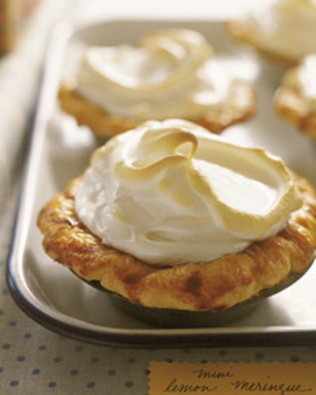 making them here is a great mini lemon meringue pies recipe from the ...