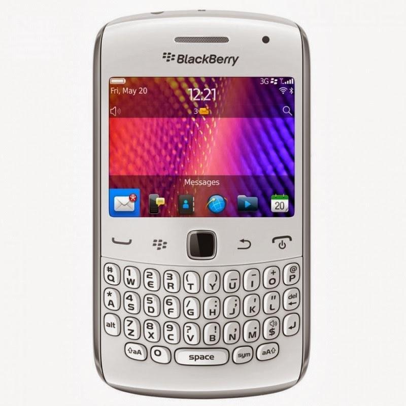 Spesifikasi Dan Harga BlackBerry Curve 9360 Apollo White Terbaru