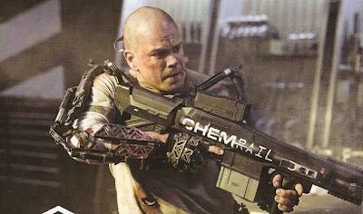 Matt Damon, Elysium, Neill Blomkamp