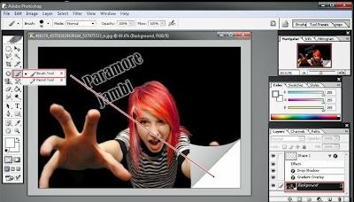 Cara Memberi Efek Lipatan Kertas Dengan Photoshop
