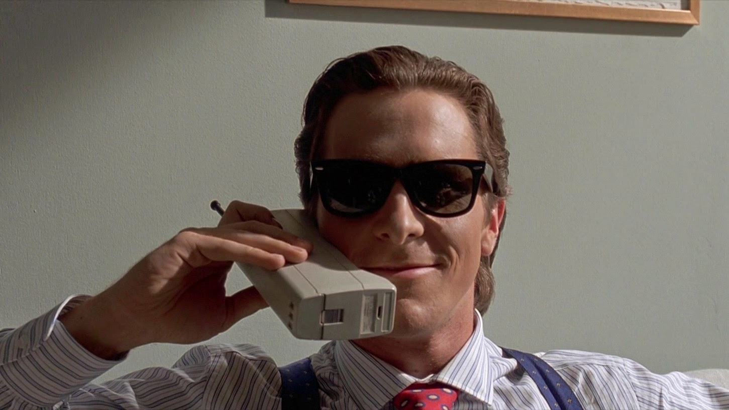American Psycho Bret Easton Ellis Christian Bale New York City 80's decade Wall Street