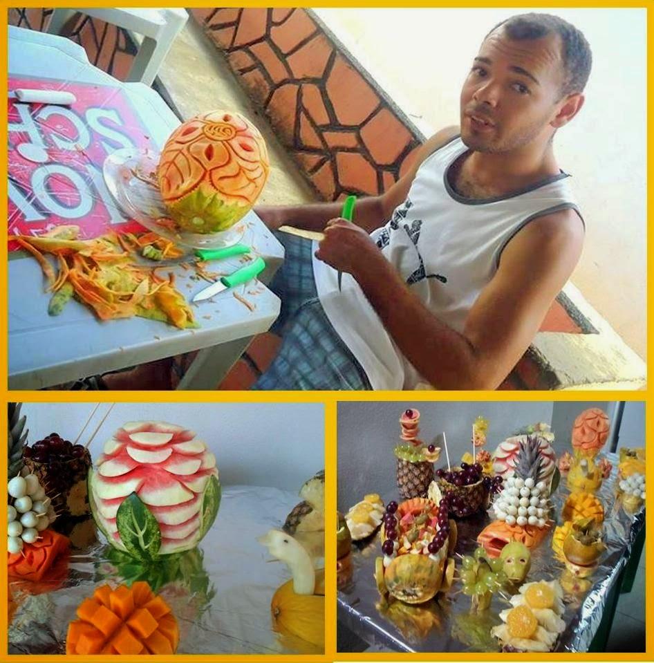Decorações e Festas Com Frutas Decoradas Falar Com Neto (88) 97040592