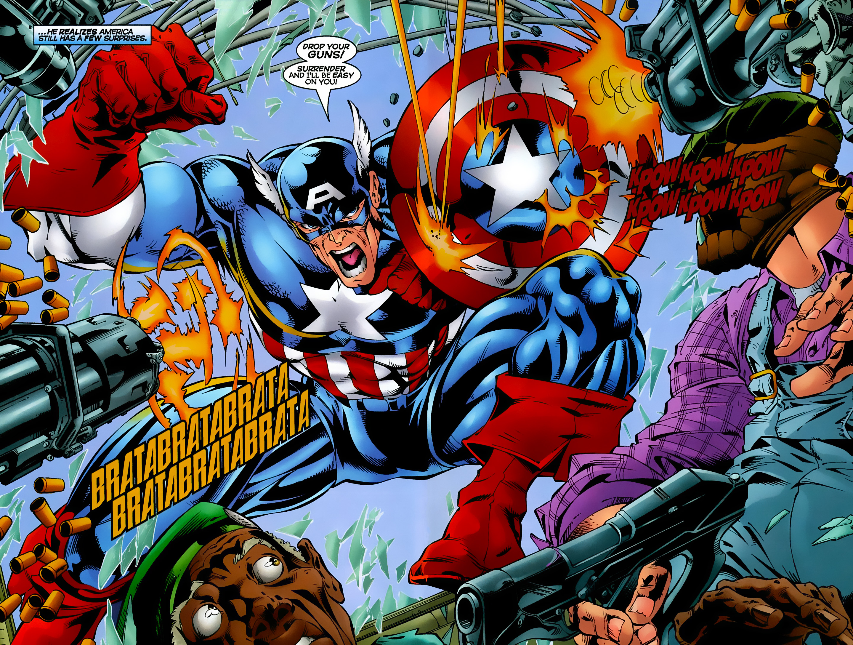 Captain America (1996) Issue #8 #8 - English 9