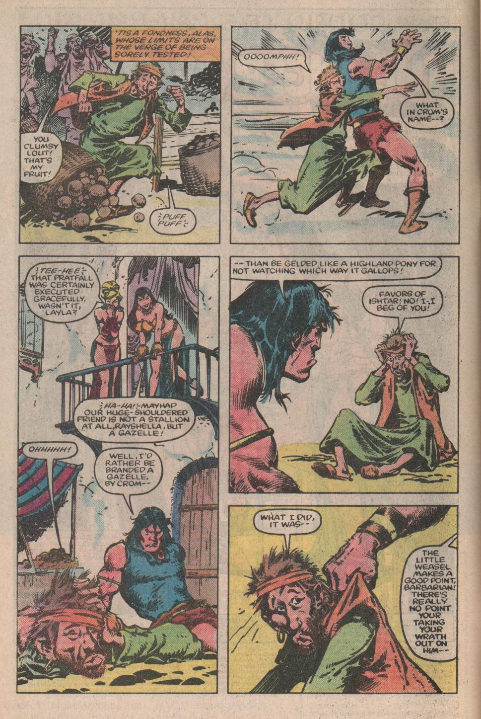 Conan the Barbarian (1970) Issue #155 #167 - English 3