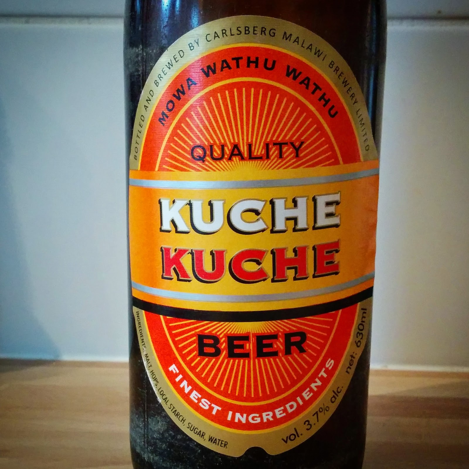 a lovely drop: Beer #395 - Kuche Kuche