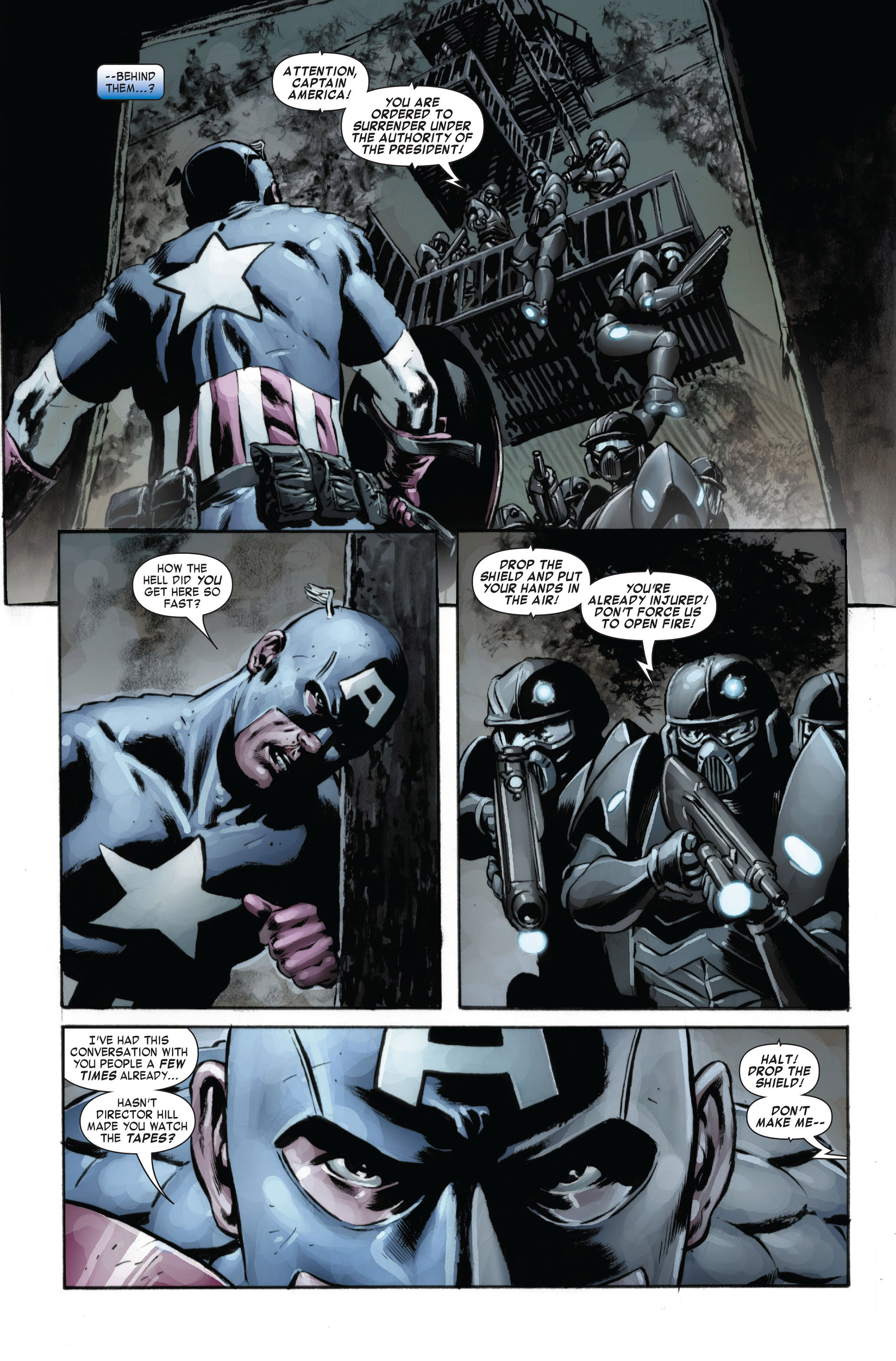 Captain America (2005) Issue #24 #24 - English 16