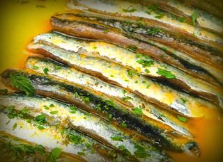 Tiradito de anchoveta
