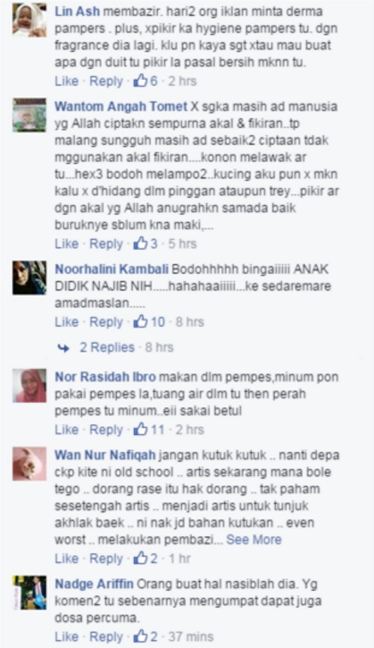 Kontroversi Vivy Yusof Makan Pakai Pampers Ganti Pinggan