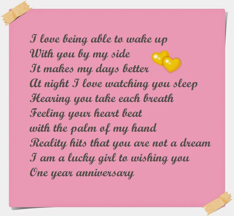 5 years dating anniversary poem
