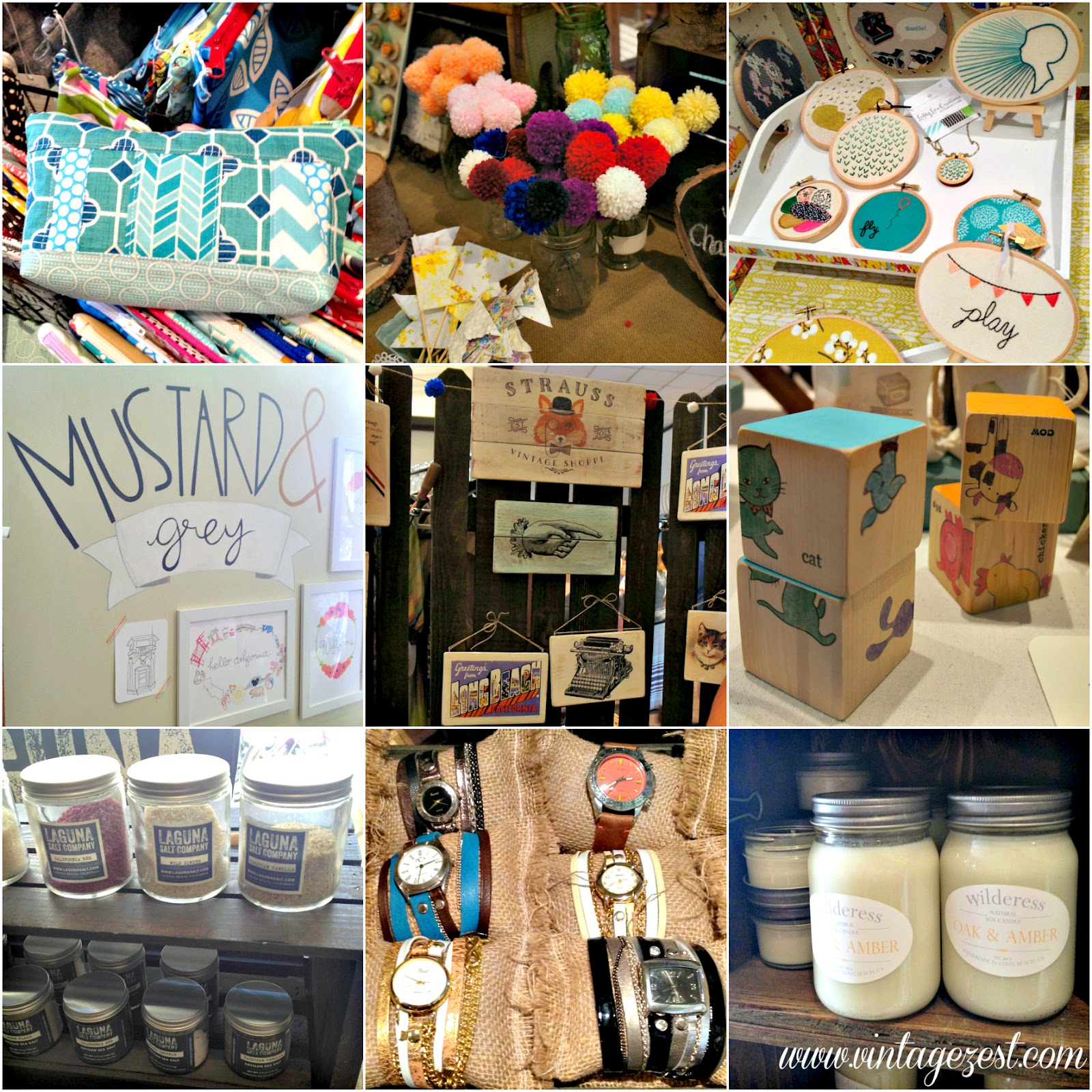 Wrap-Up: Craft-Shows Galore on Diane's Vintage Zest!