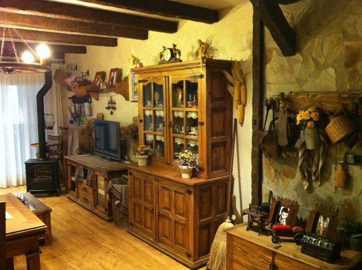 Artesan a r stica en madera algunos de mis trabajos en - Decoracion de casas rurales ...