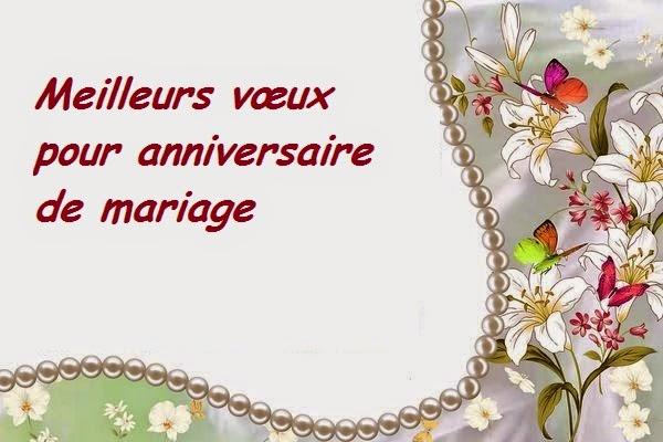 Assez Texte pour joyeux anniversaire de mariage - Comment et où trouver UW49