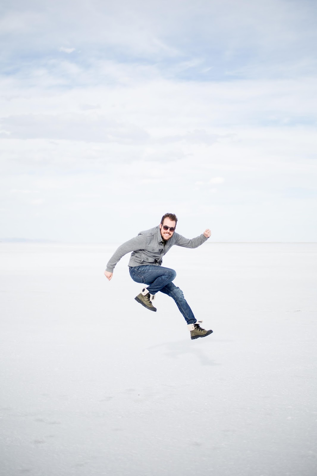 The Bonneville Salt Flats