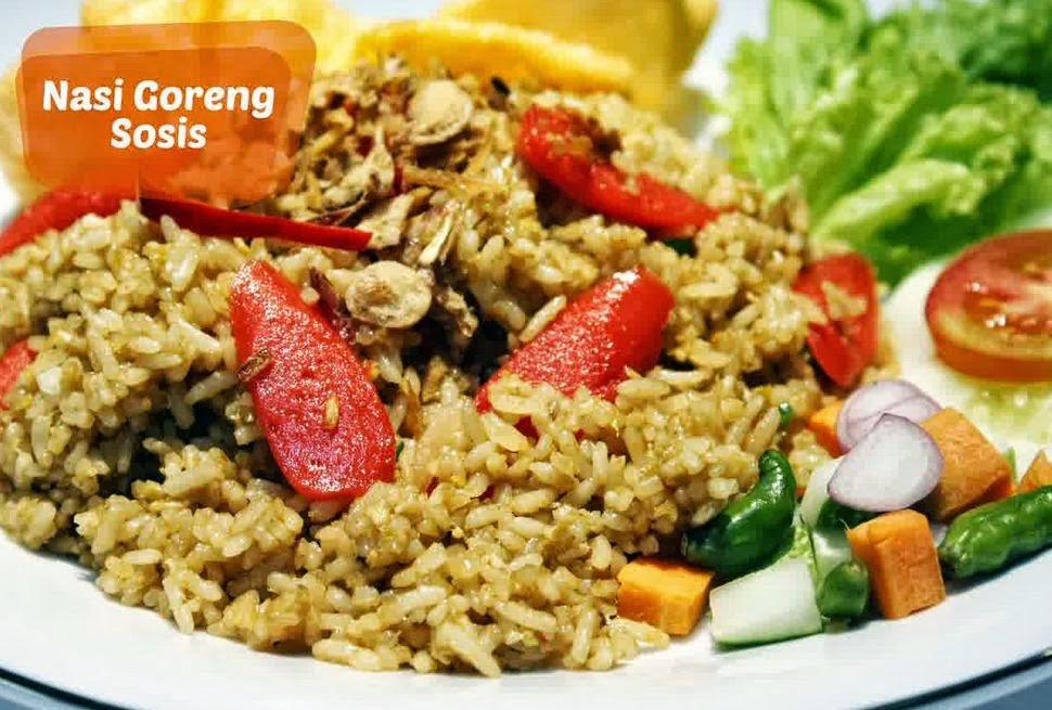 Resep Membuat Nasi Goreng Sosis Enak Mudah Tanpa Ribet
