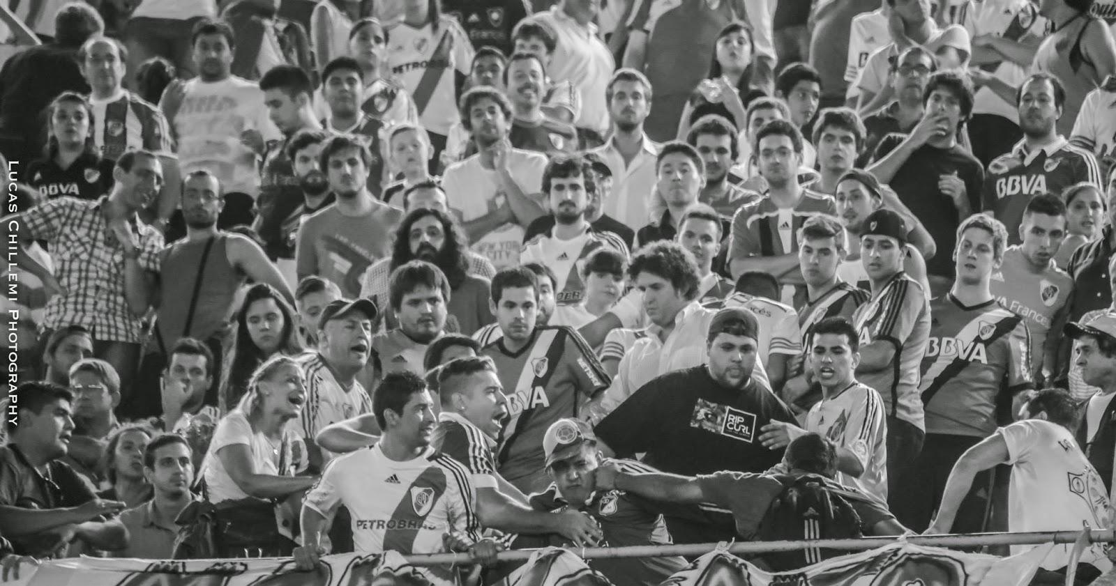 Disturbios, Pelea, Tribuna, River, Libertadores, River Plate, 2015,