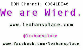 we are wierd lexhansplace