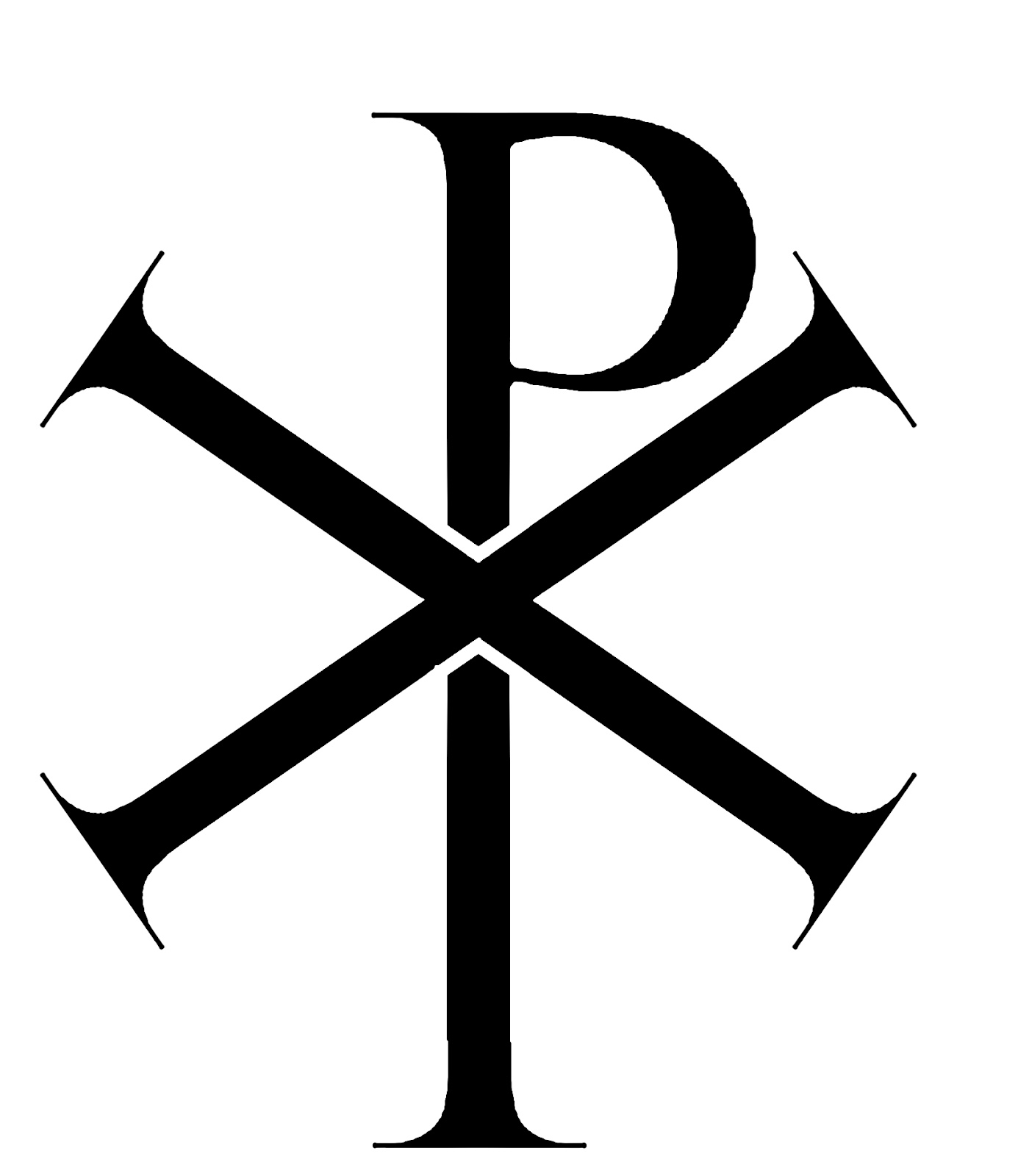Chi Rho Symbol Catholic