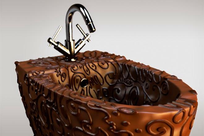 Шоколадное биде Maderno