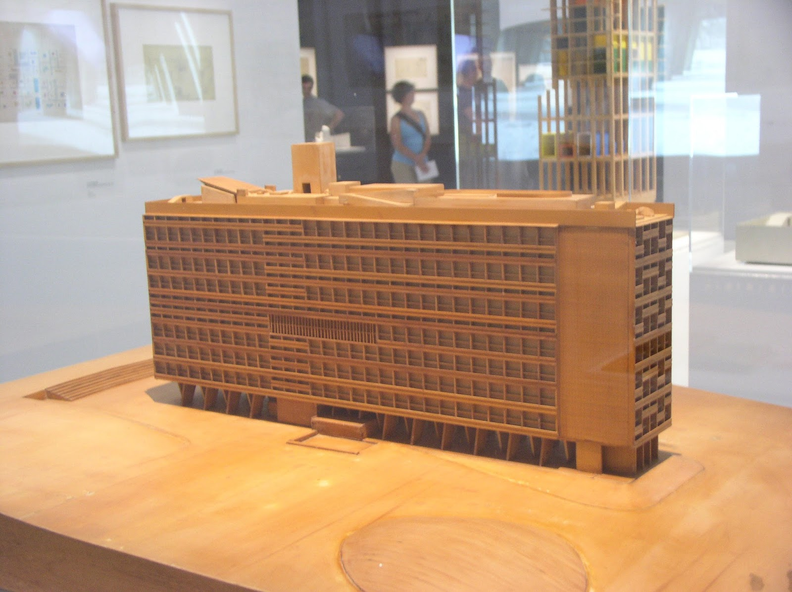Models Of Le Corbusieru0027s Buildings. Maquette Gratte Ciel Cartésien, (Model  Of Cartesian Skyscraper), 1937