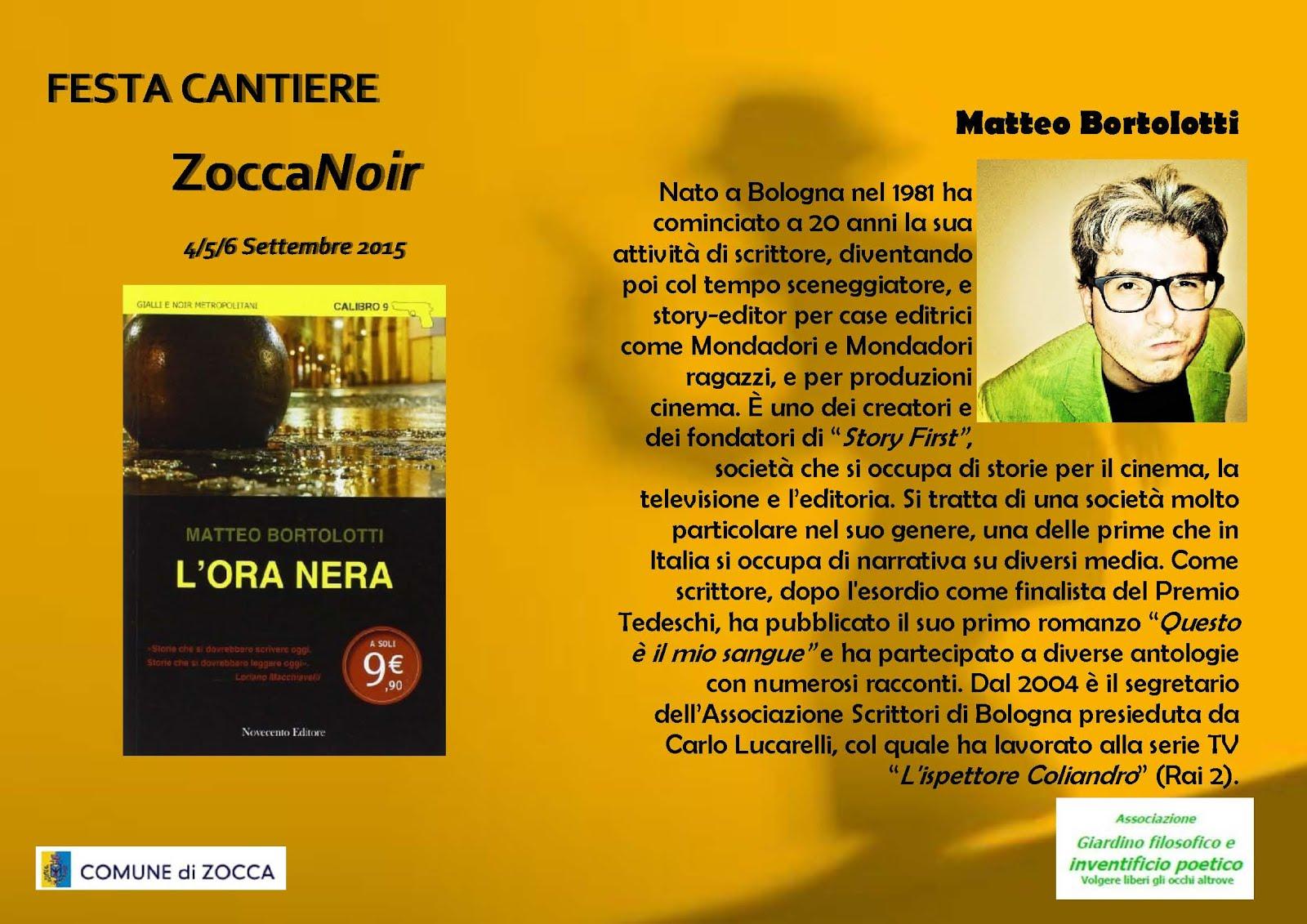 Biografia Matteo Bortolotti