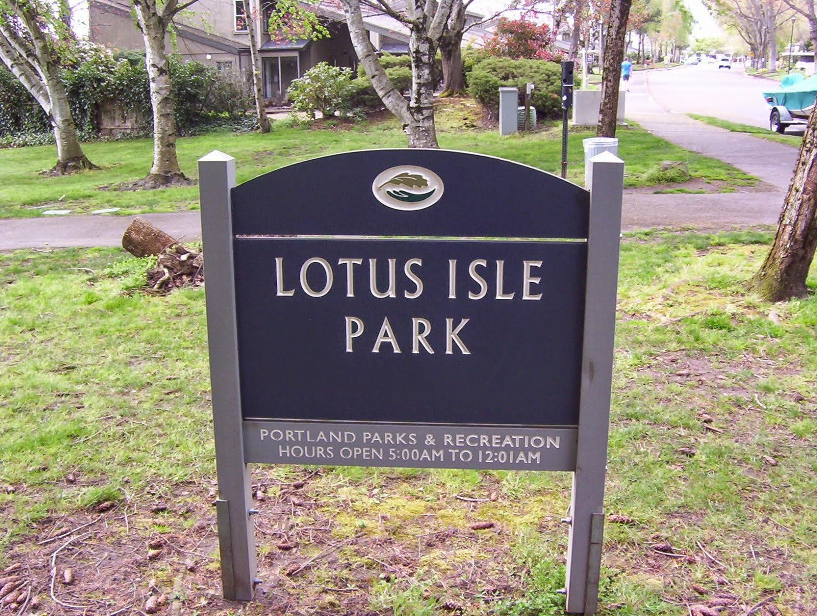 A park bears the name of former Lotus Isle Amusement Park