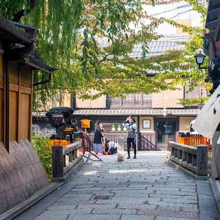 祇園新橋保存地区
