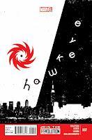 Hawkeye #7 Cover