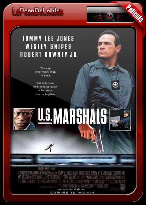U.S. Marshals (1998) | Los Federales | 720p h264 Dual Mega