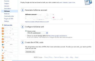 Memasang AdSense Di Blog Bahasa Indonesia